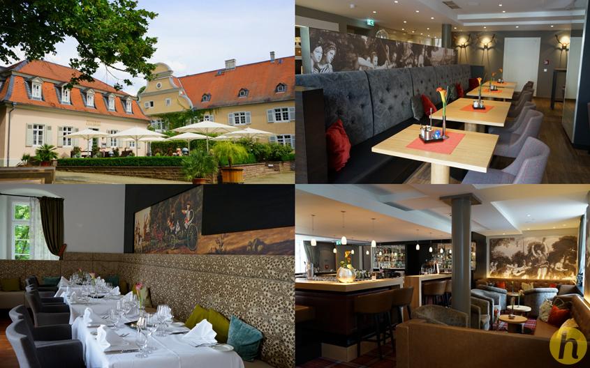 """Kavaliersbau mit Restaurant, Bistro und Bar """"Diana"""""""