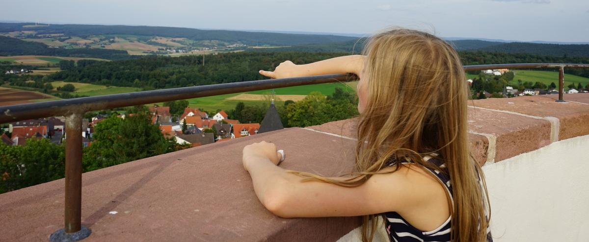 Veste Otzberg – An der weißen Rübe in alte Zeiten versetzt
